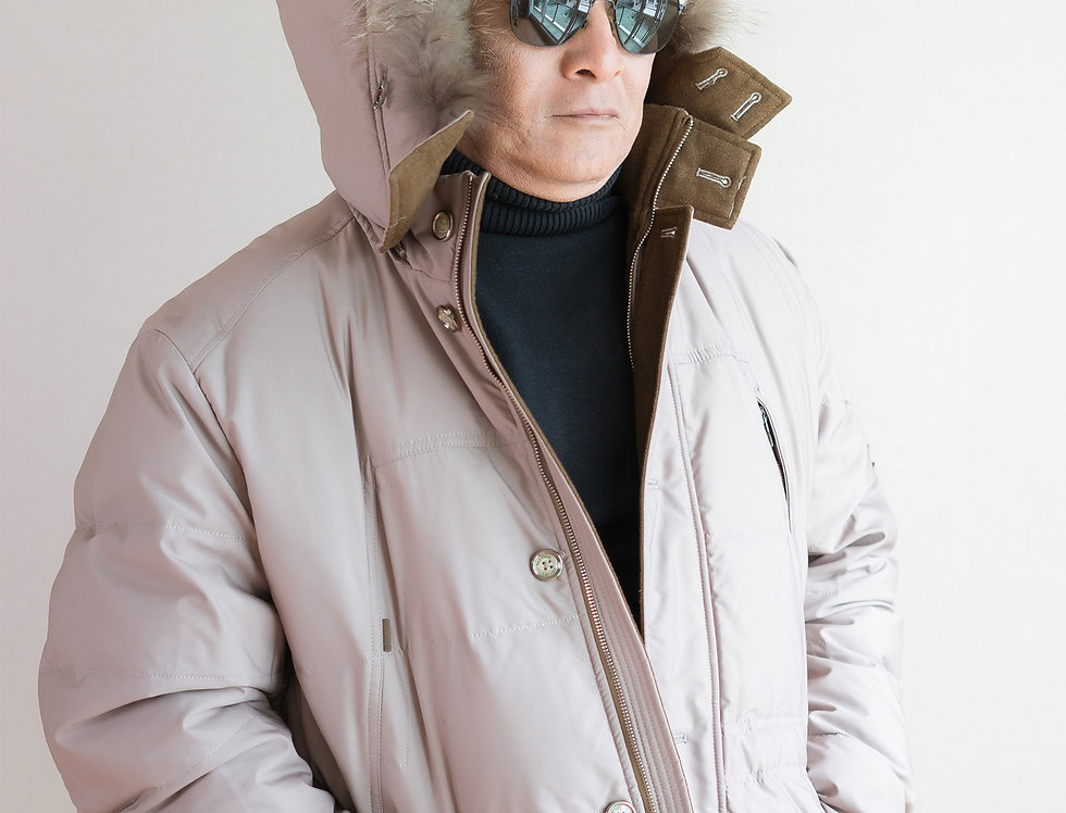 เช่าเสื้อกันหนาว คนอ้วน DJLF009BR