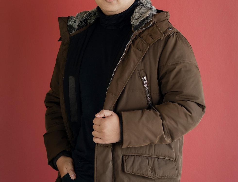 เช่าเสื้อขนเป็ดชาย รุ่น HUSKI | DJAWRBR