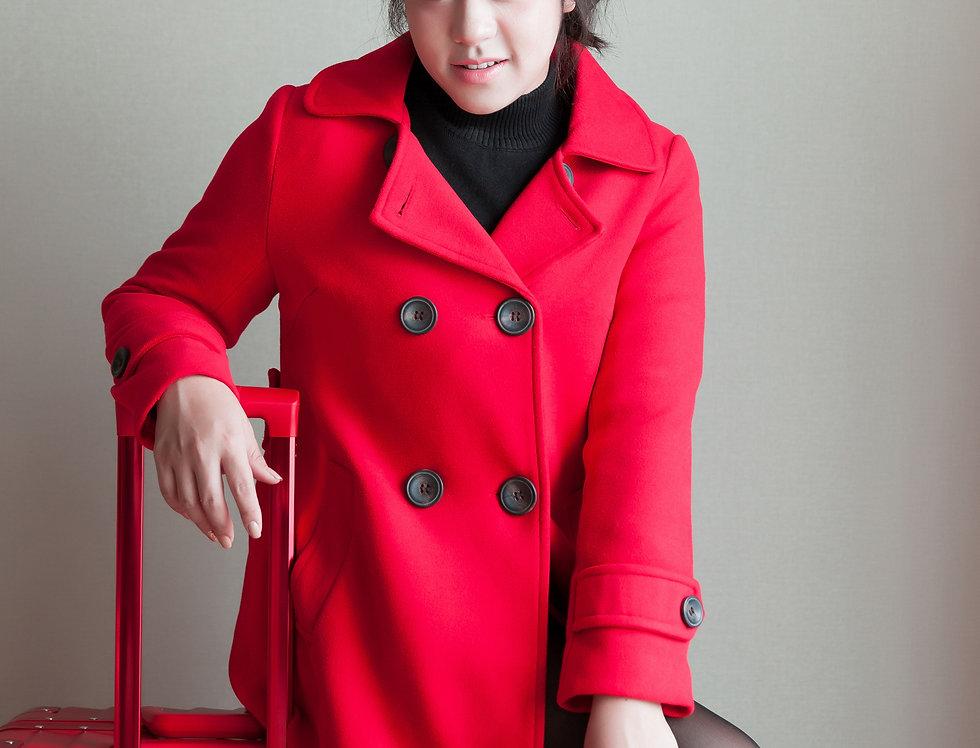 เช่าโค้ทเกาหลี WCL057RD