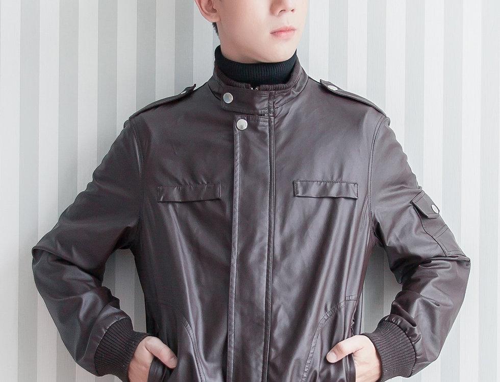 เช่าเสื้อหนังกันหนาว LJS001BR