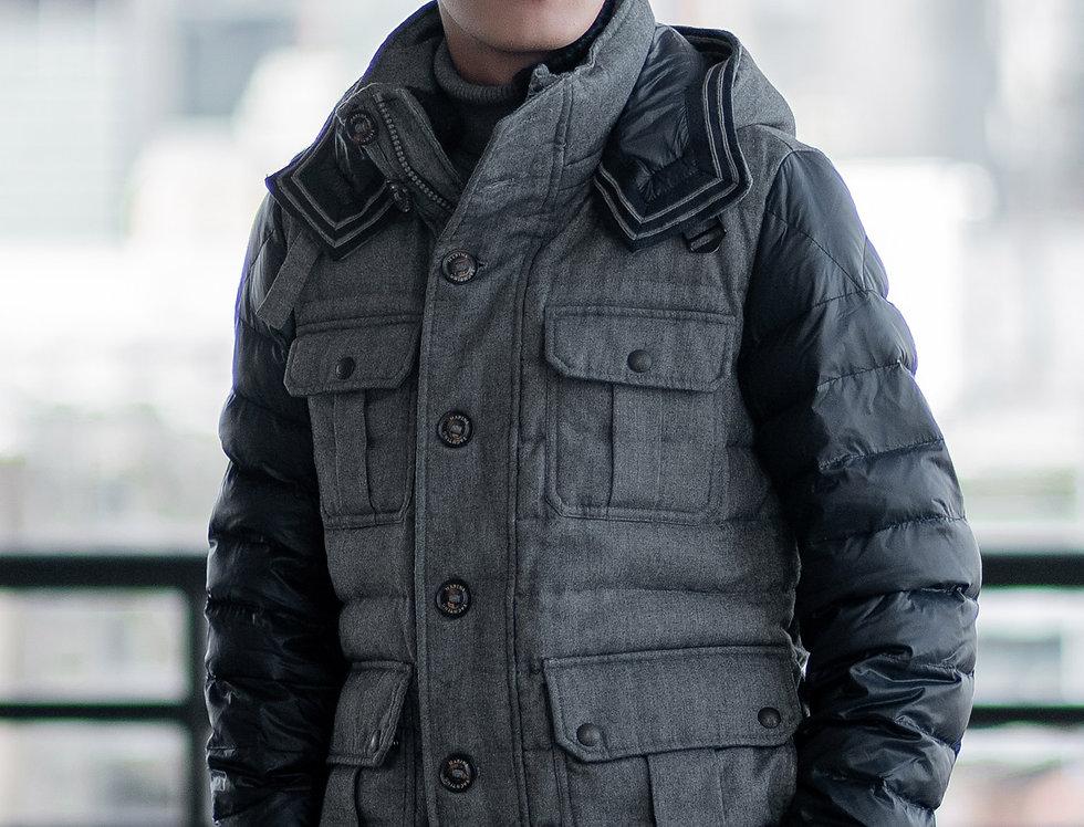เช่าเสื้อขนเป็ดสั้น ชาย รุ่น RIEL (H1) | DJAQKBL