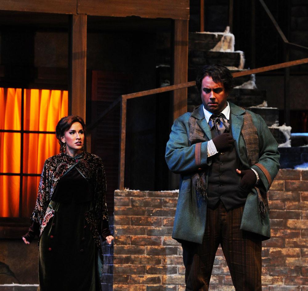 Marcello; La Bohème, Opera San Jose