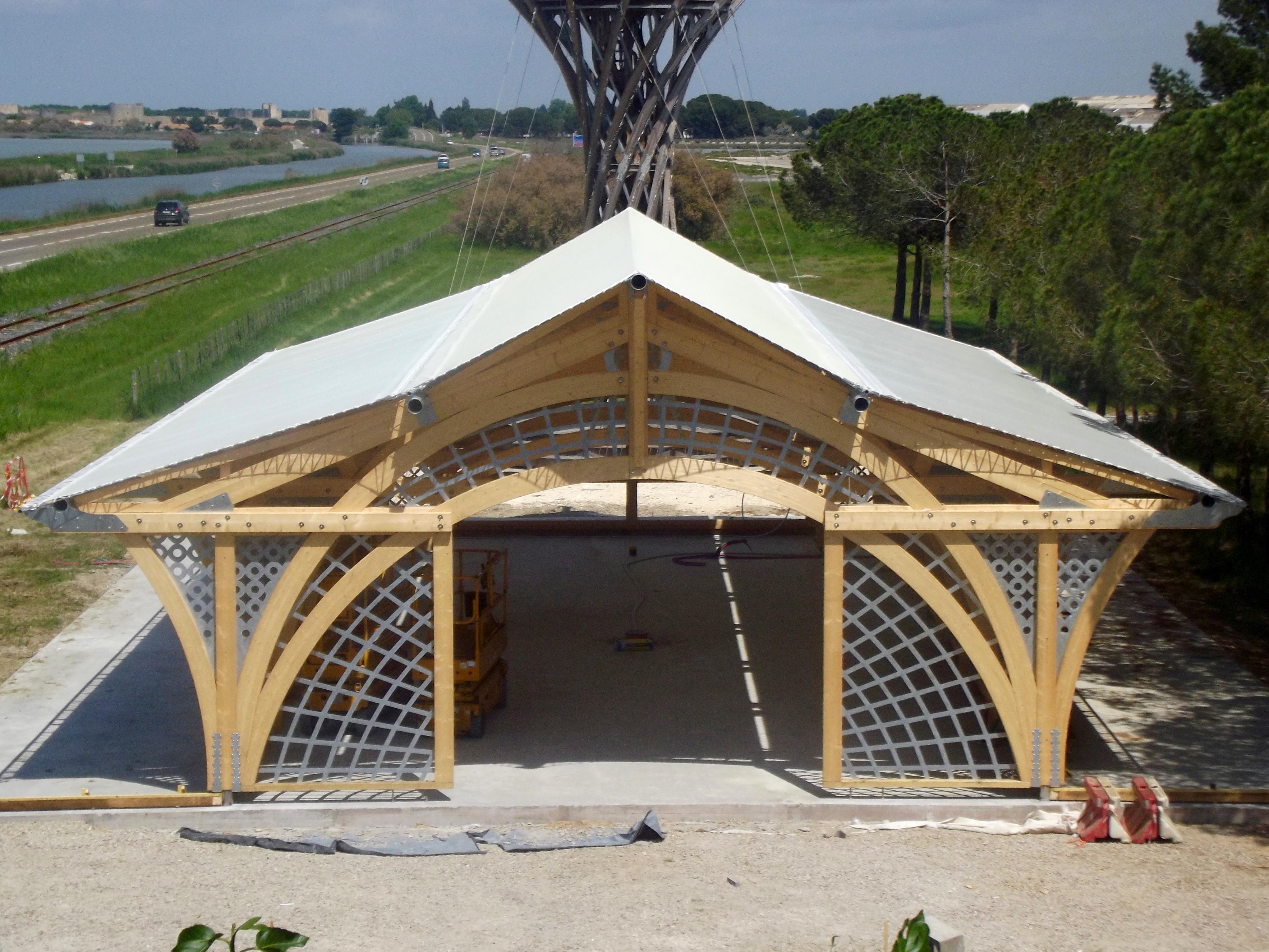 entoilage structure bois