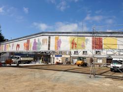 facade textile