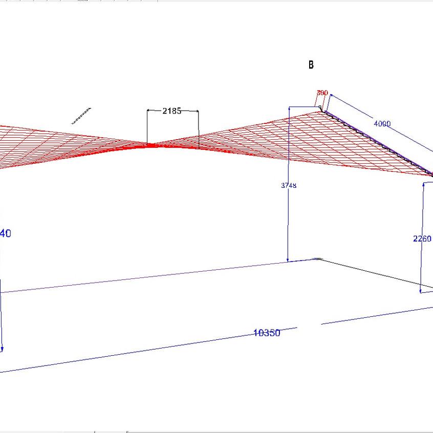 Plan voile d'ombrage Socotex
