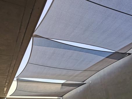 Un écran de protection entre-murs, tout en préservant la vue du ciel