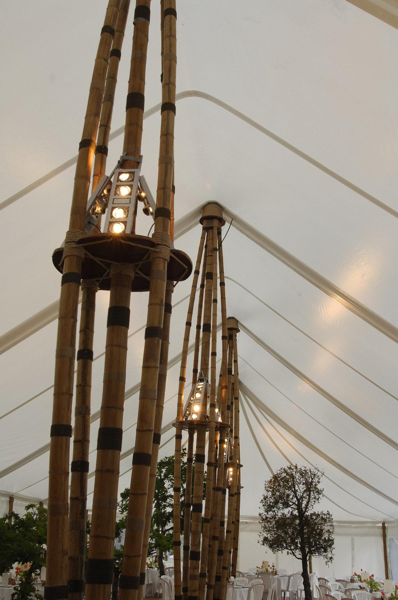 abribambou - tente bambou