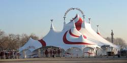 chapiteau de cirque Arlette Gruss