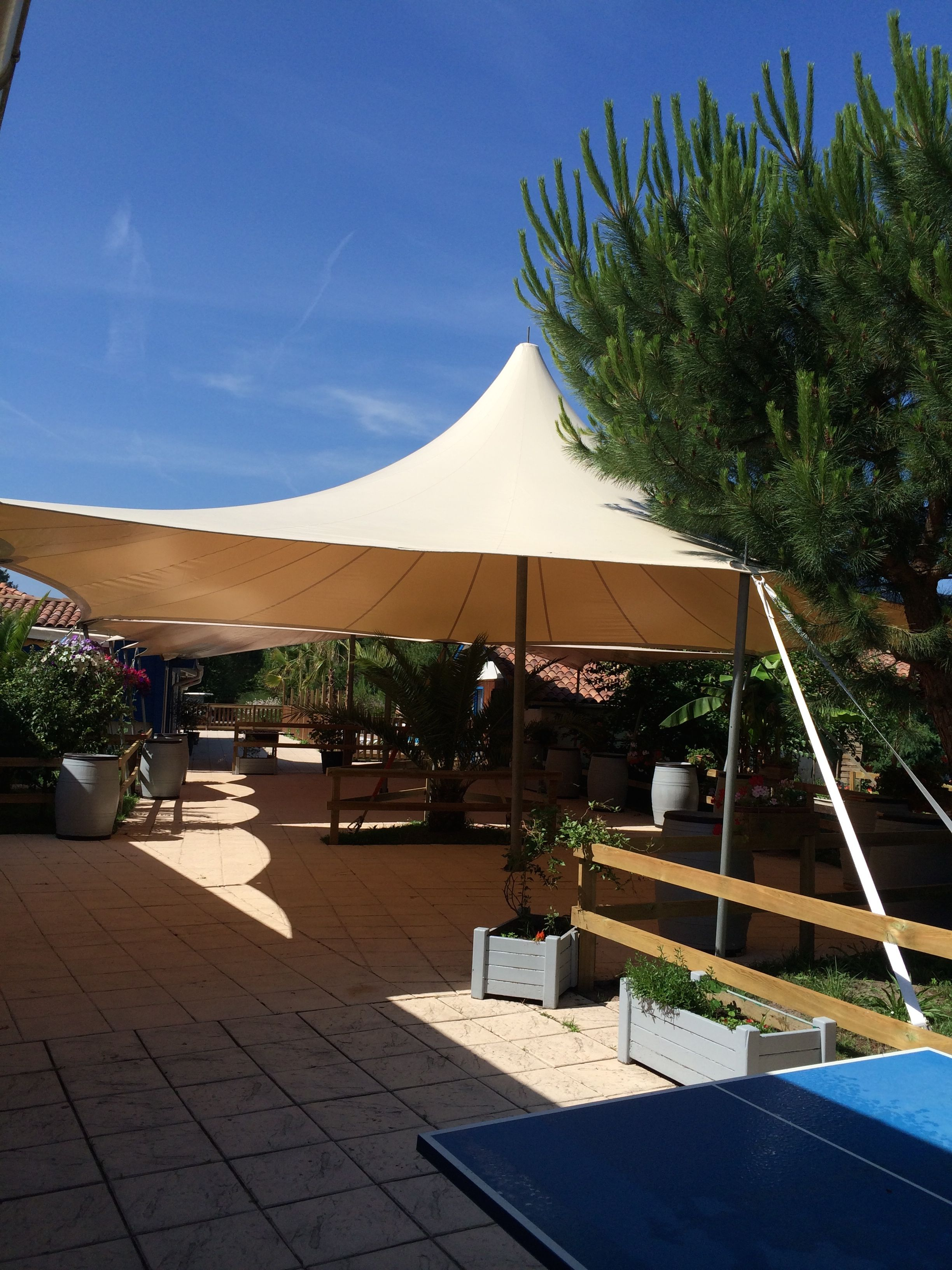 couverture toile pour terrasse