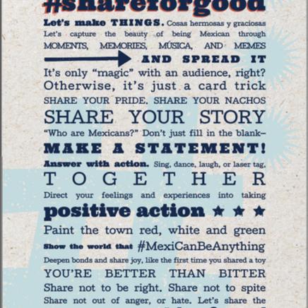 #ShareForGood