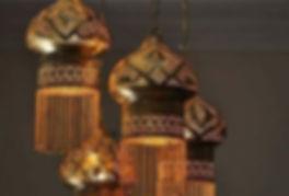 Brass lamps,handmade lightenings