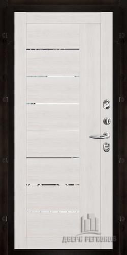 2110 Капучино велюр с зеркальными вставк