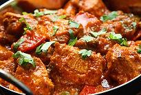 Curry de poulet indien