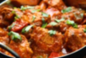 Curry di pollo indiano