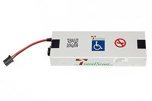 TravelScoot 420 battery highlight