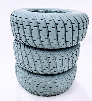 TravelScoot solid tires