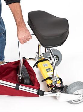 TravelScoot multi-function backrest