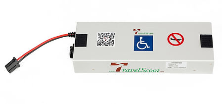 TravelScoot 420 lithium-ion battery