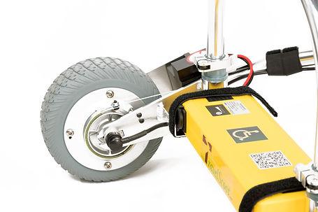 TravelScoot rear-wheel drive