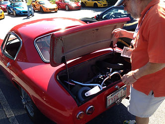 TravelScoot in a '63 Lotus Elise
