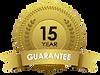 15 years guarantee