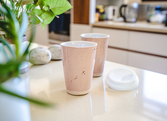 Pink Travel Cups