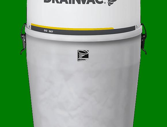 Centrale aspirante Drainvac - Substances solides G2E007