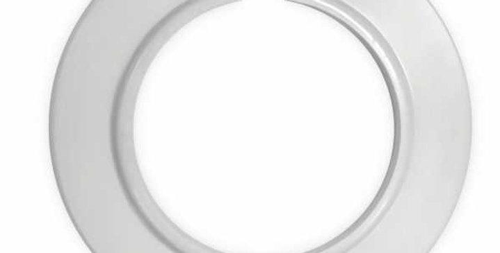 Anneau pvc blanc cache trou 51 mm accessoires aspiration drainvac GV-8231