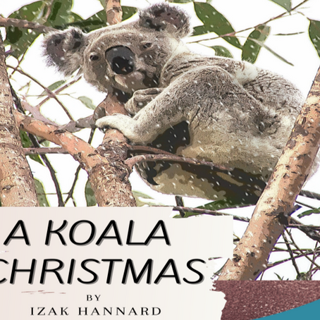 A Koala Christmas by Izak Hannard is now available to pre-order worldwide on Amazon