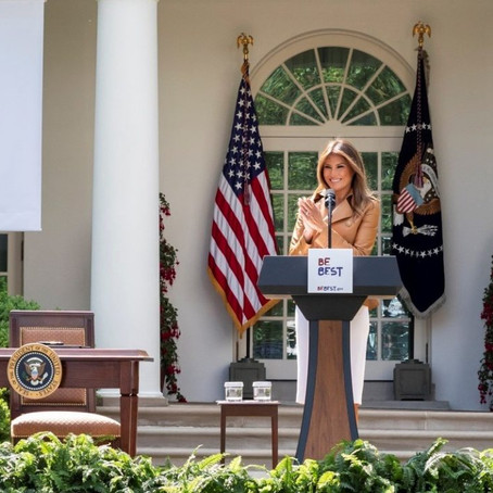 Recognising First Lady Melania Trump's Be Best Campaign