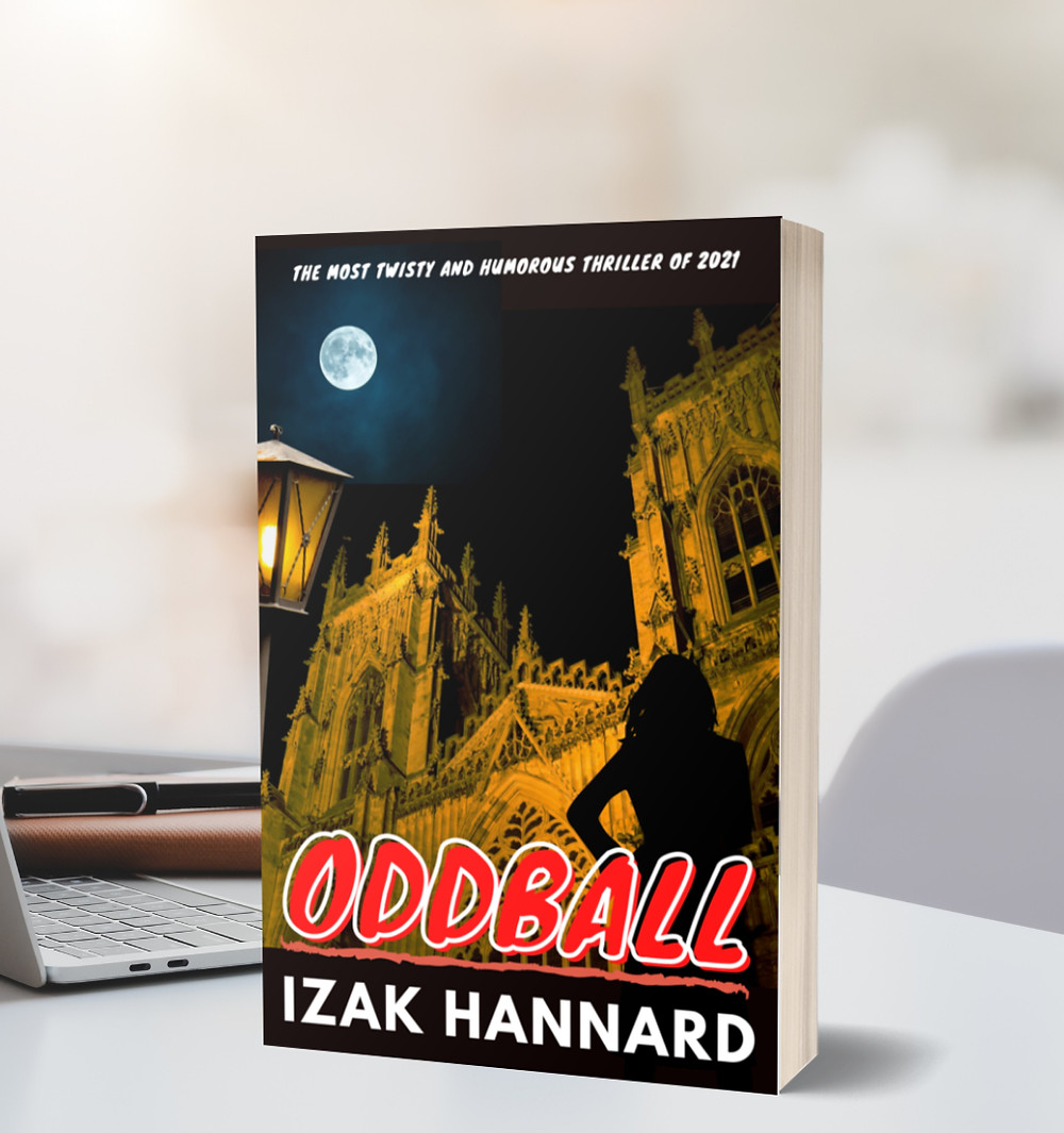 Izak Hannard's new mystery thriller book ODDBALL available in March 2021