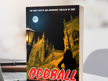 "My new mystery thriller book ""ODDBALL"" is now available to pre-order for 99p"