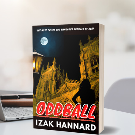 """My new mystery thriller book """"ODDBALL"""" is now available to pre-order for 99p"""