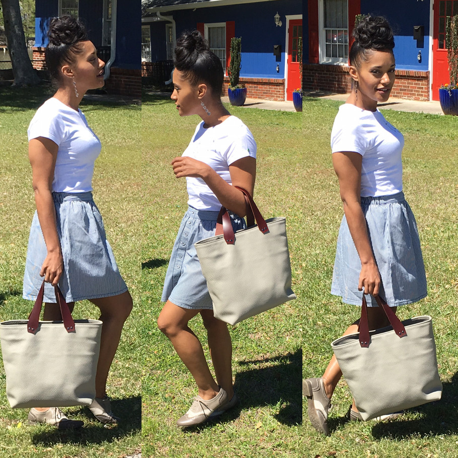 Casual with the Terry Tote