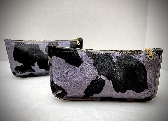 Marlena Wallet ~ Purple Cowhide