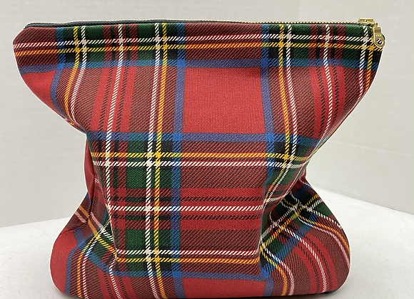 Chaka Clutch ~ Holiday Plaid