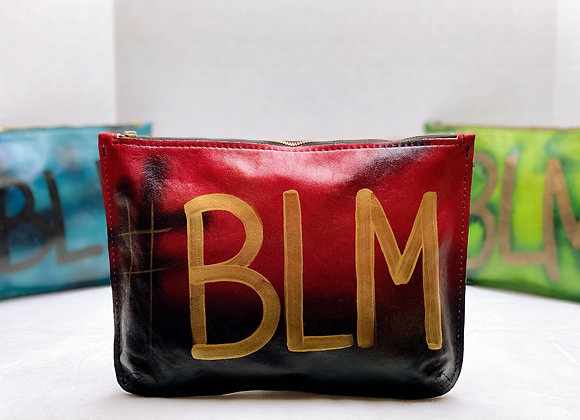 Big Marlena ~ Red/Black with Gold #BLM