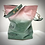 Thumbnail: Leo ~ Lt. Pink/Dk. Green Ombre