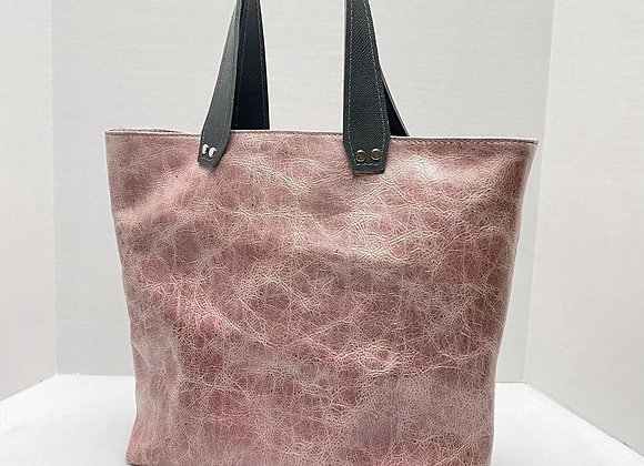 Terry Tote ~Pink Frost