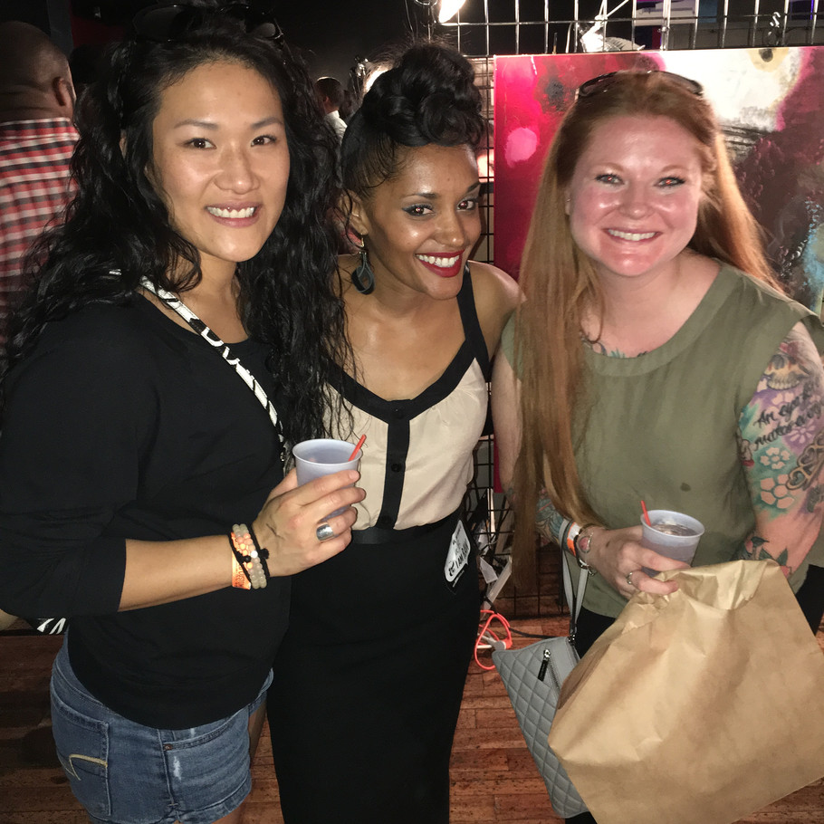 Thank you for supporting us at RAW Artists- Atlanta