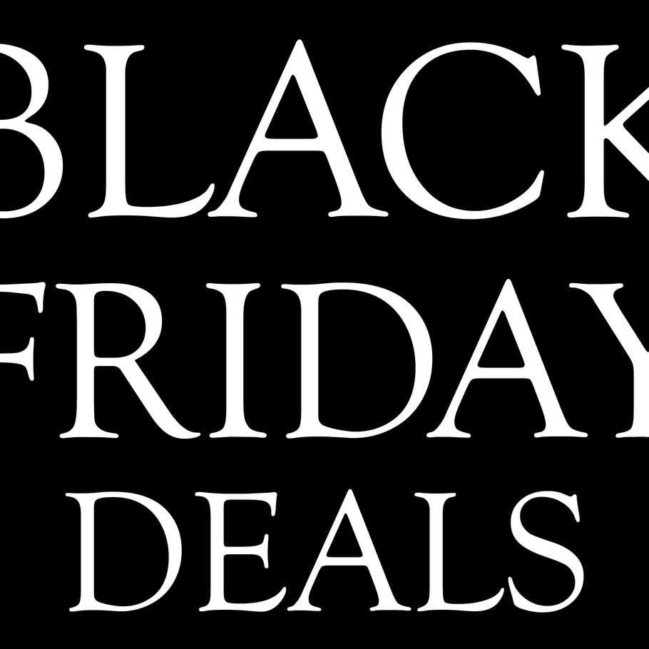BLACK FRIDAY happening NOW!