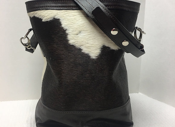 Leo ~ Cowhide w/ Brown Details