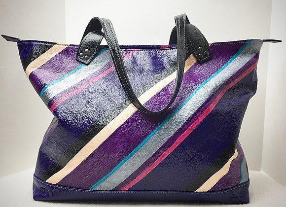 The Weekender ~ Custom Purple Striped