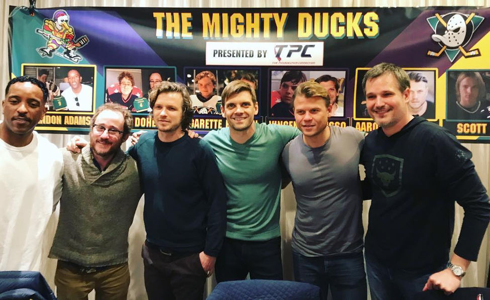 The Mighty Ducks Signing