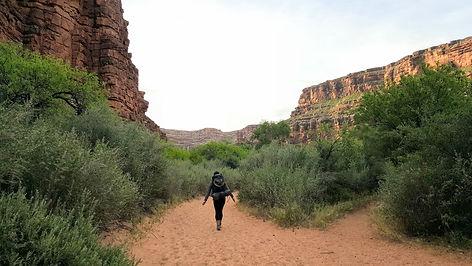 Backpacking trip to Havasupai Falls, Grand Canyon, 2017