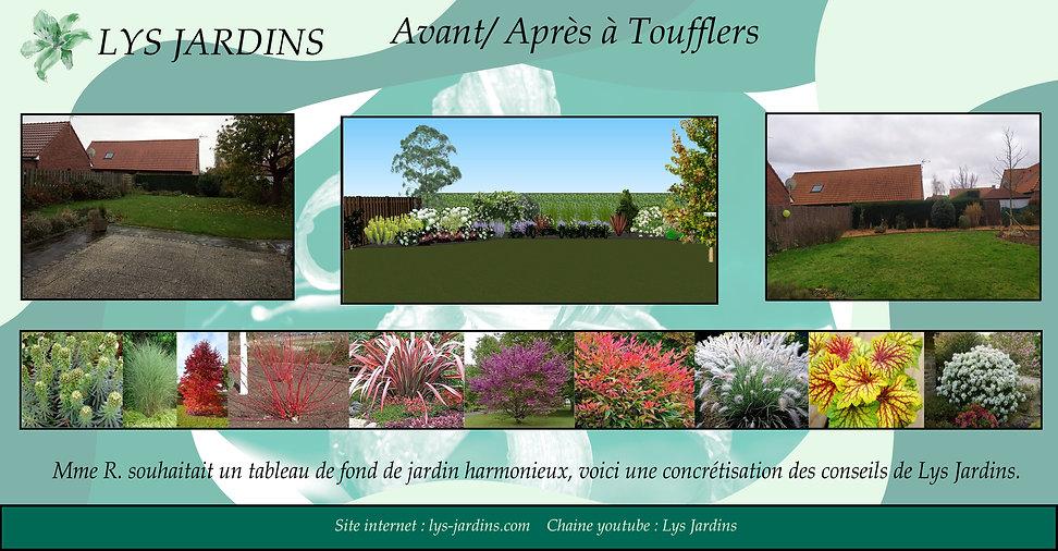 Lys Jardins - Aménagement massif sans entretiens à Toufflers près de Lille