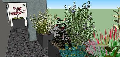 Jardin sur balcon Lille