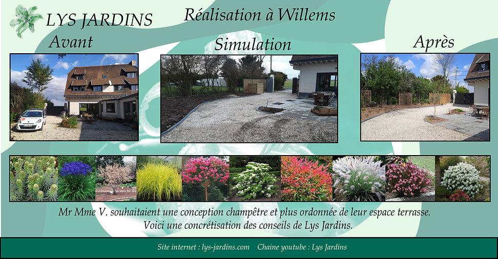 Lys Jardins - Aménagement Terrasse et jardin à Willems-Lille