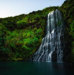 Karekare Falls, Karekare, NZ