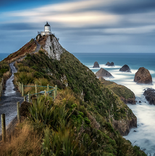 Nugget Point, Ahuriri Flat NZ